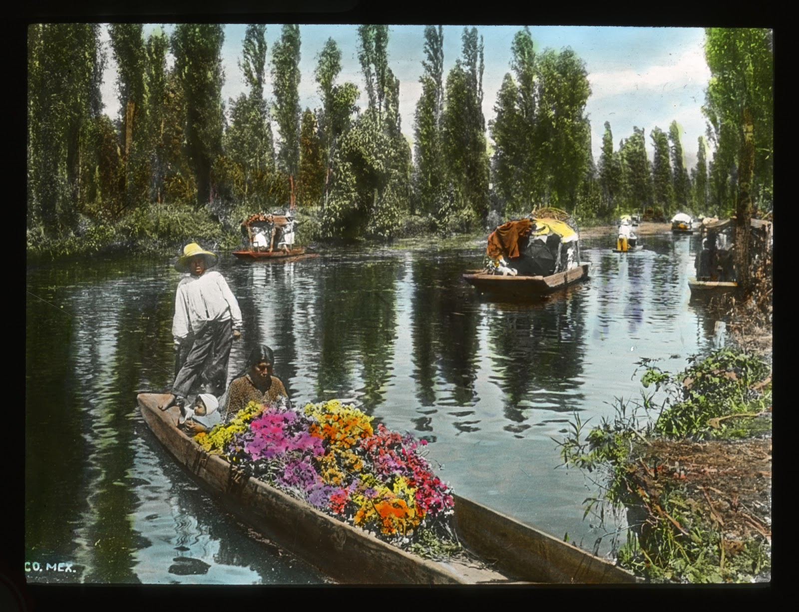 Smithsonian Collections Blog Throwback Thursday Floating Gardens Of Mexico
