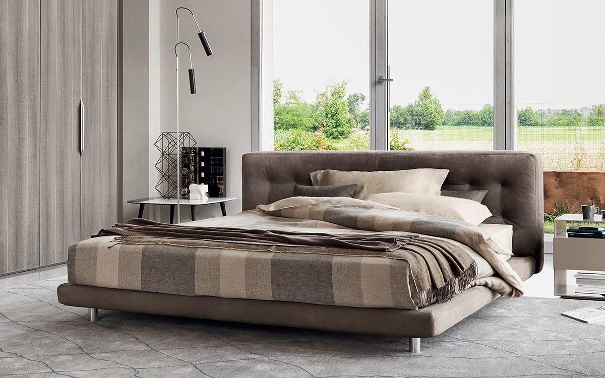 M veis camas elegantes modernas s nove em ponto for Mobiliario contemporaneo italiano