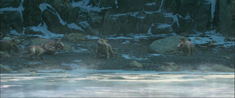 Caminando Entre Dinosaurios (2013) BRRip 720p HD INGLES Subs ESPAÑOL 6