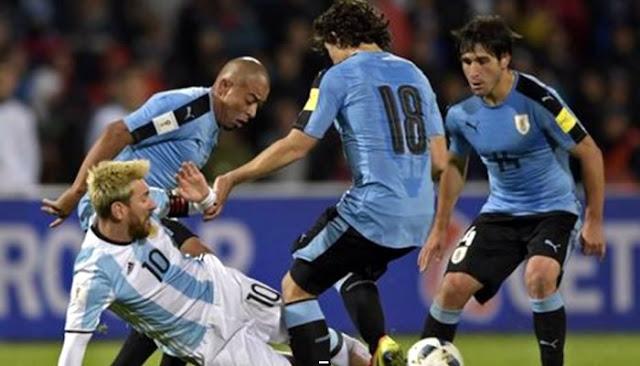 Uruguay vs Argentina en vivo online Eliminatorias 31 agosto