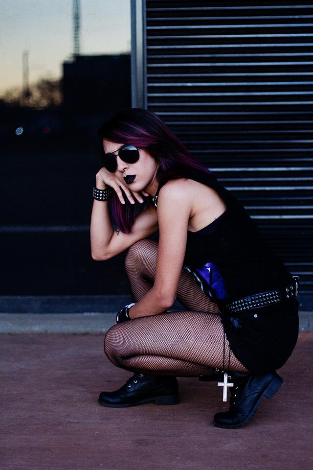 Look do Dia: Metalhead Girl