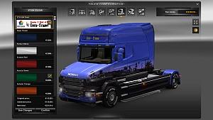 Euro-Trans skin for Scania T Longline