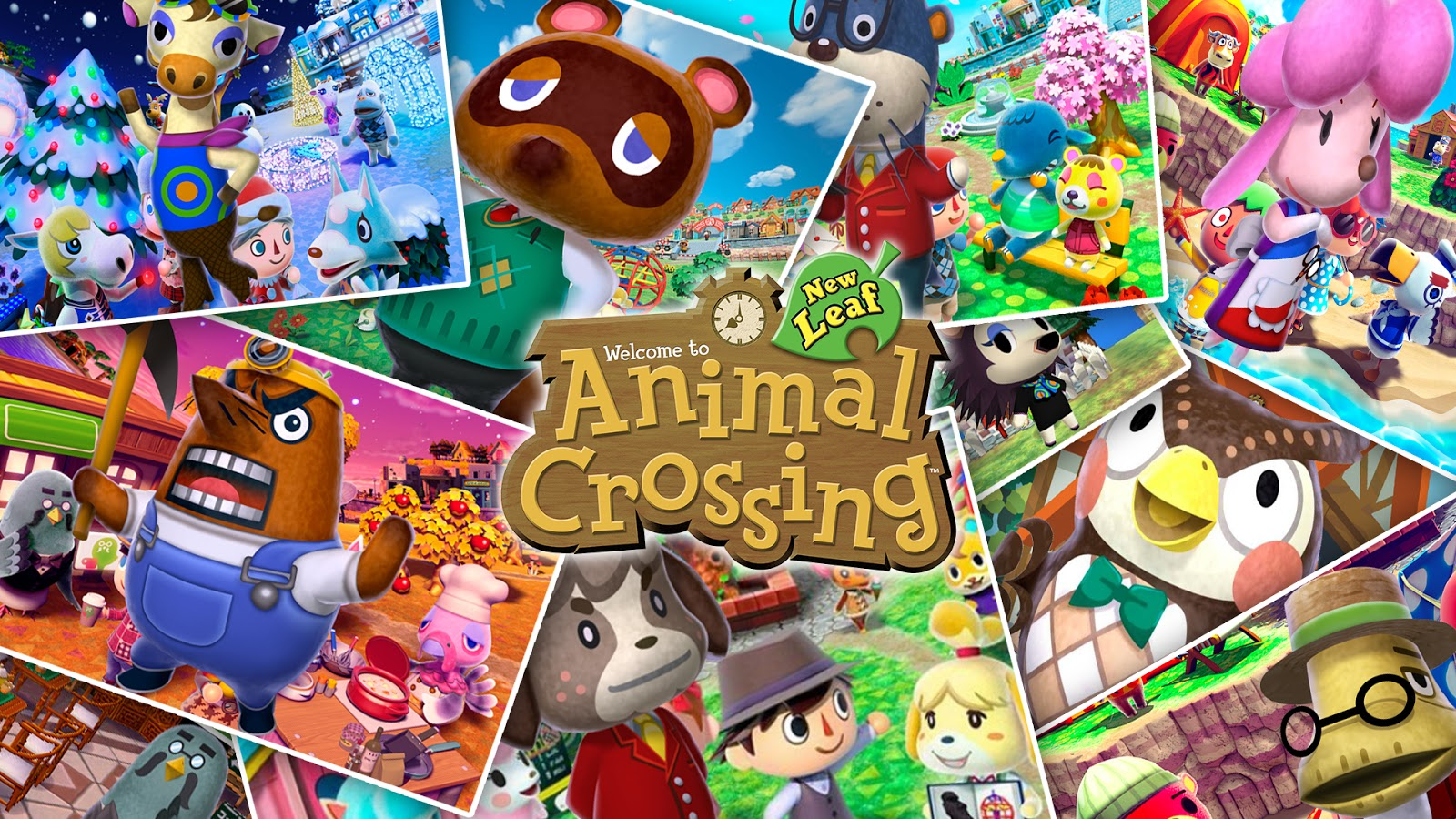 Animal Crossing: New Leaf Free 3DS ISO (USA)