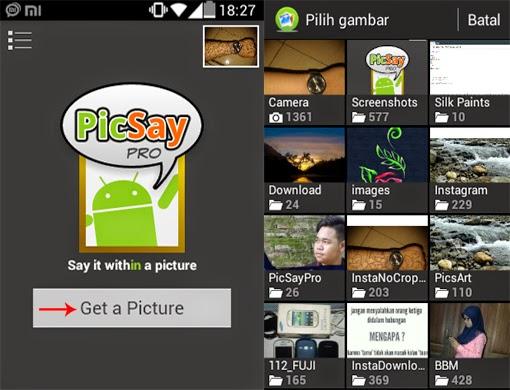 cara menggunakan picsay pro untuk membuat quotes