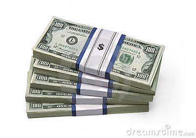 50000 dollars in 100 dollar bills