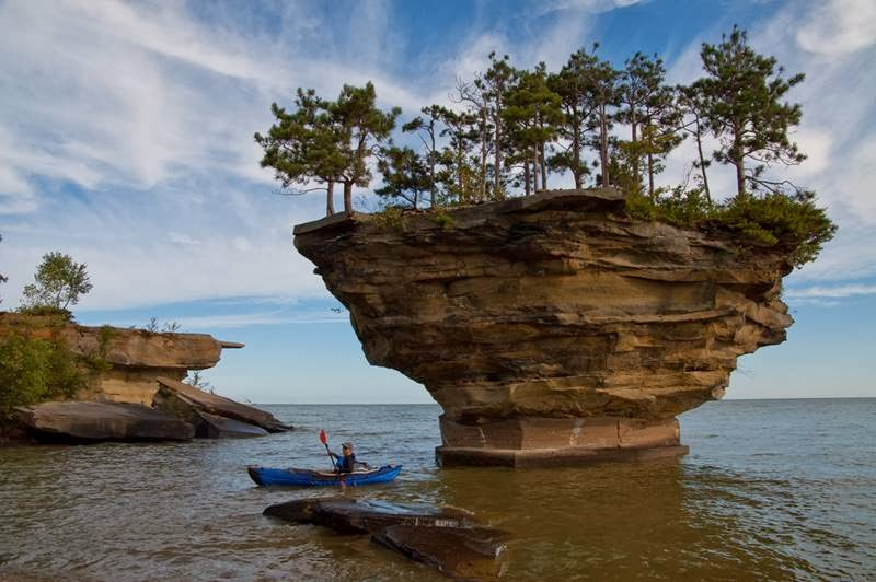 Turnip Rock | Port Austin, Huron Lake | Michigan, USA