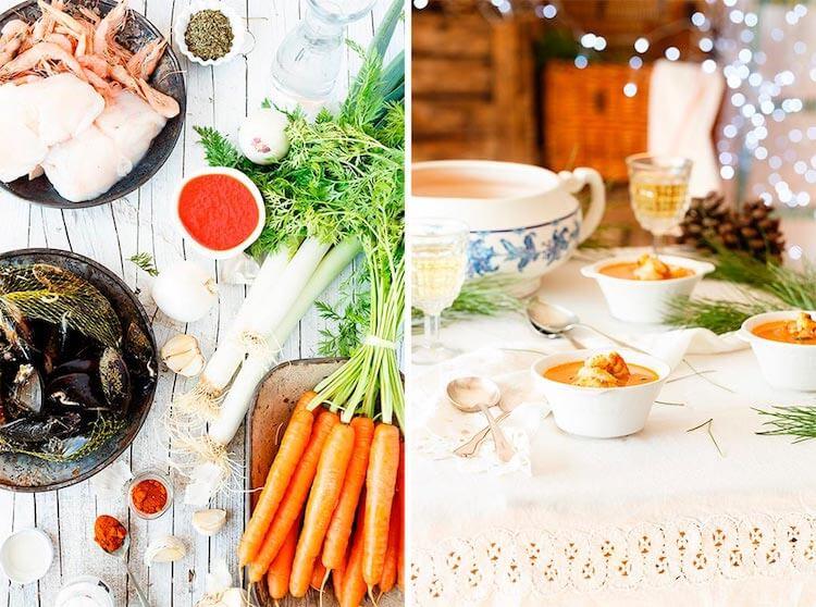 10 recetas para triunfar en navidad- sopa de marisco