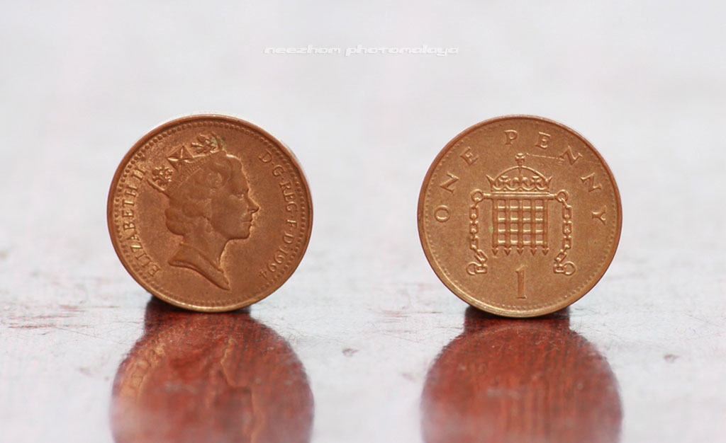 Great Britain coin 1 Penny 1994