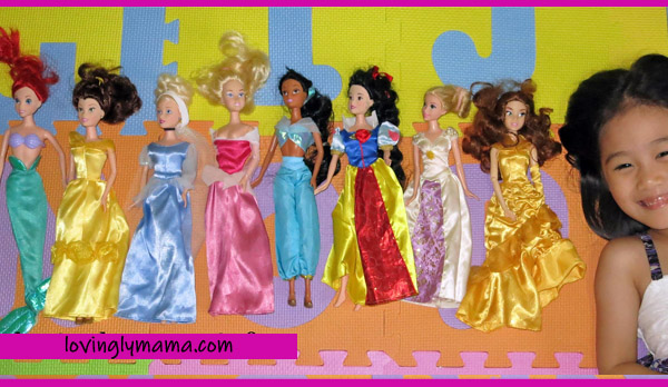 Disney Princess dolls collection - Barbie dolls - Barbie doll collection - Barbie dream doll house - girls - sisters - pink - toys - Filipino mommy blogger - Filipino mommy blog - Bacolod mommy blogger