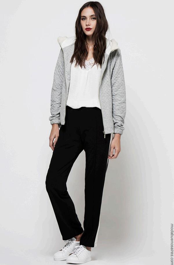 Moda invierno 2017 sacos y ropa de moda mujer.