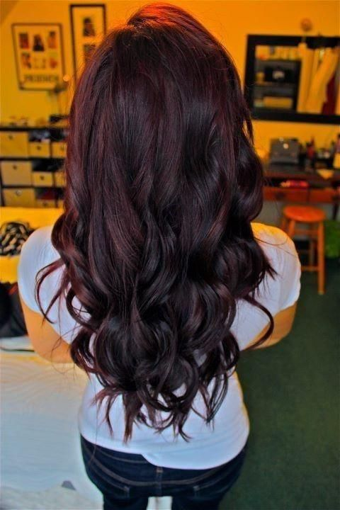 10 Ideas To Spark Your Dark Hair Color | Hair Fashion Online