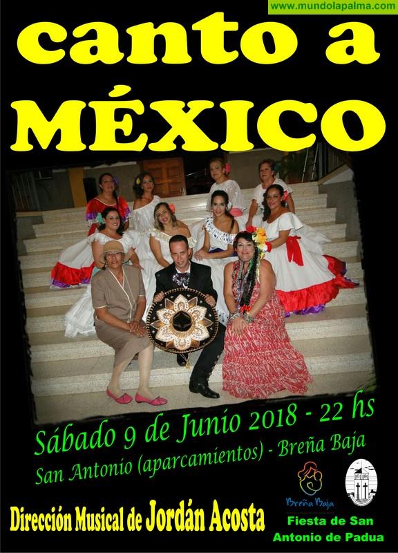 """FIESTA SAN ANTONIO: """"Un Canto a México"""""""