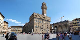 The Piazza della Signoria is Florence's main square