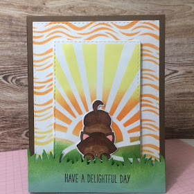 Have a delightful day by Katrina features Newton's Antics, Sunscape, Waves, and Land Borders by Newton's Nook Designs; #newtonsnook