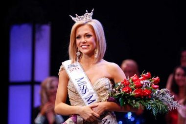 Elizabeth Wertenberger, Miss Southwest, was crowned Miss Michigan 2011 Saturday night June 17, 2011