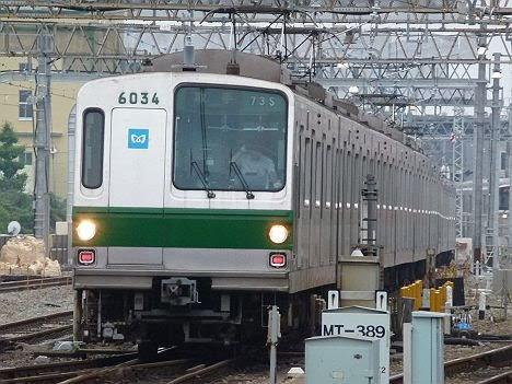 常磐線 取手行き5 6000系幕車