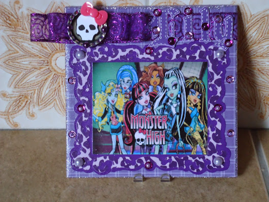 Monster High Altered Tile