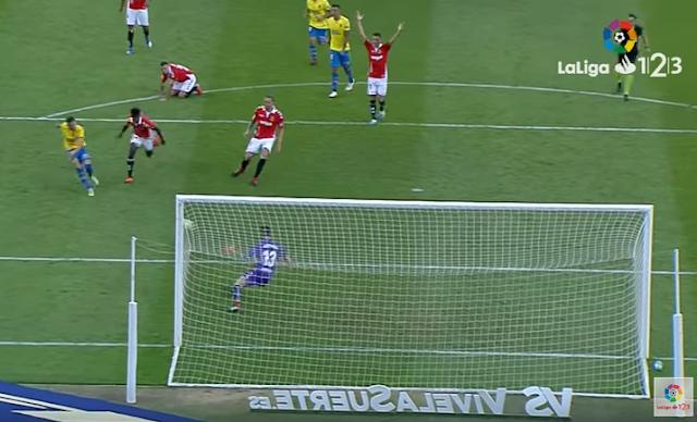 1-0 gol de Rubén Castro