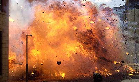 Image result for picture of carnage after bomb attack