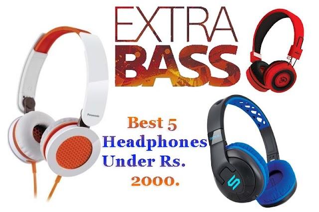 Best headphones under Rs 2000 in 2019