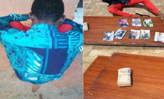 26-years-old Guy Arrested For Attempting To Use His Dad, 2 Sisters & 5 Friends For Money Ritual.