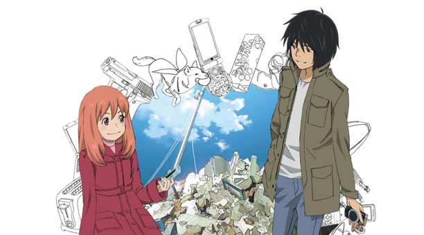Anime Mystery Terbaik - Higashi no Eden