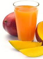 Mango juice is used as homemade face wash and for skin treatment as it is loaded with polyphenols and carotenoid antioxidants. They are used for hair nourishment such as, treatment for dandruff, dry, brittle and damaged hair.