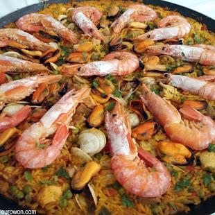 Paella gallega