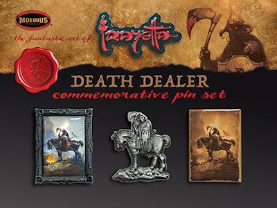 San Diego Comic-Con 2017 Exclusive Frank Frazetta's Death Dealer 1-10 Scale Model Kit by Moebius Models