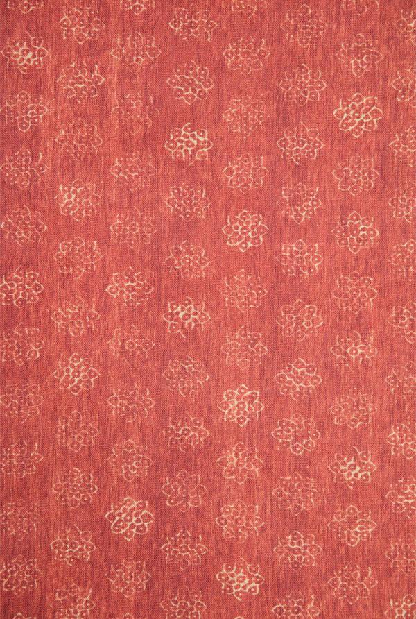 Schuyler Samperton Textiles, design: Doshi persimmon