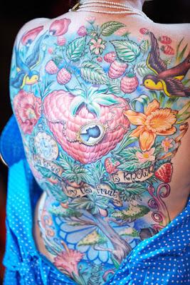 tato di punggung full