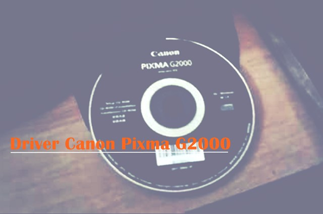 Driver Canon Pixma G2000