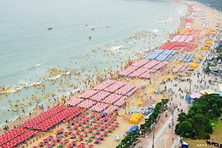 Haeundae Beach, Pantai Terpopuler di Musim Panas Korea