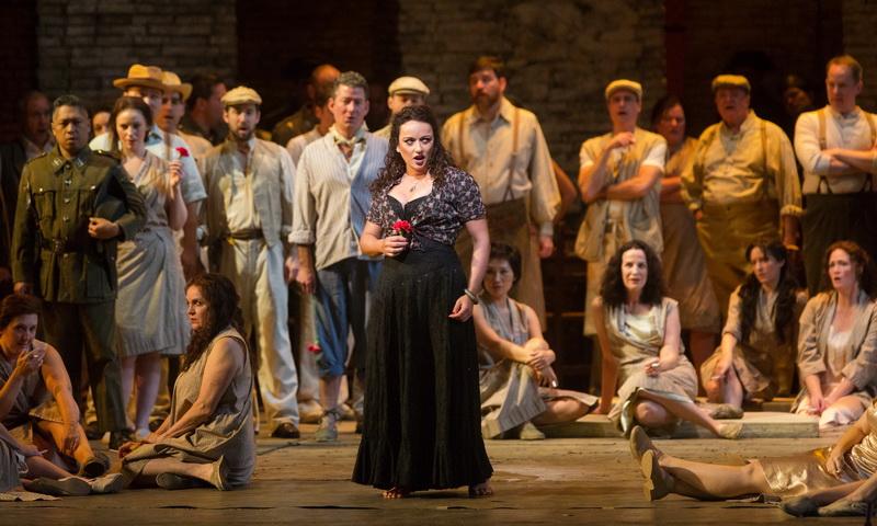 Προβολή της όπερας «Κάρμεν» του Μπιζέ στο Δημοτικό Θέατρο Αλεξανδρούπολης