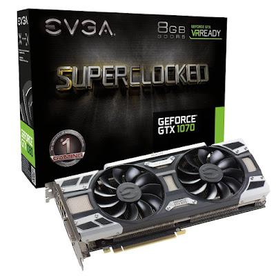 EVGA GeForce GTX 1070 SC GAMING ACX 3.0, 8GB GDDR5,