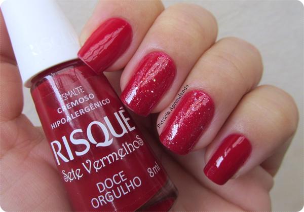 Esmalte Vermelho lindo