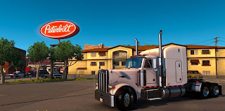 American Truck Simulator Peterbilt 379 EXHD Truck Download MODs