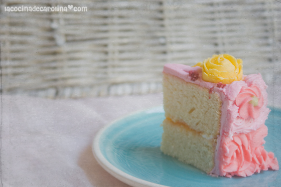 La Cocina De Carolina Pastel Perfecto Para Decorar Tarta