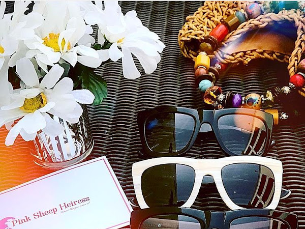 Give your Valentine the gift of getting ready for the summer sun (or even the winter sun!) #SheepShades #PinkSheepHeiress
