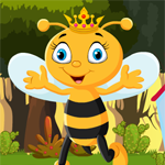Games4King Queen Bee Rescue Walkthrough