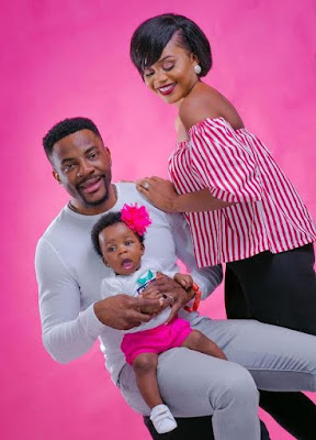 Image result for Ebuka Obi-Uchendu & wife, Cynthia finally share photos of their beautiful daughter, Jeweluchi