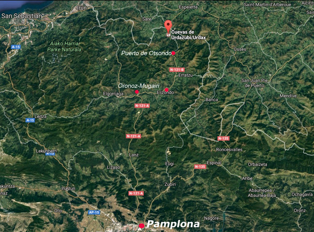 Las cuevas de Urdax, a menos de 80 km de Pamplona