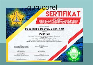 template sertifikat cdr