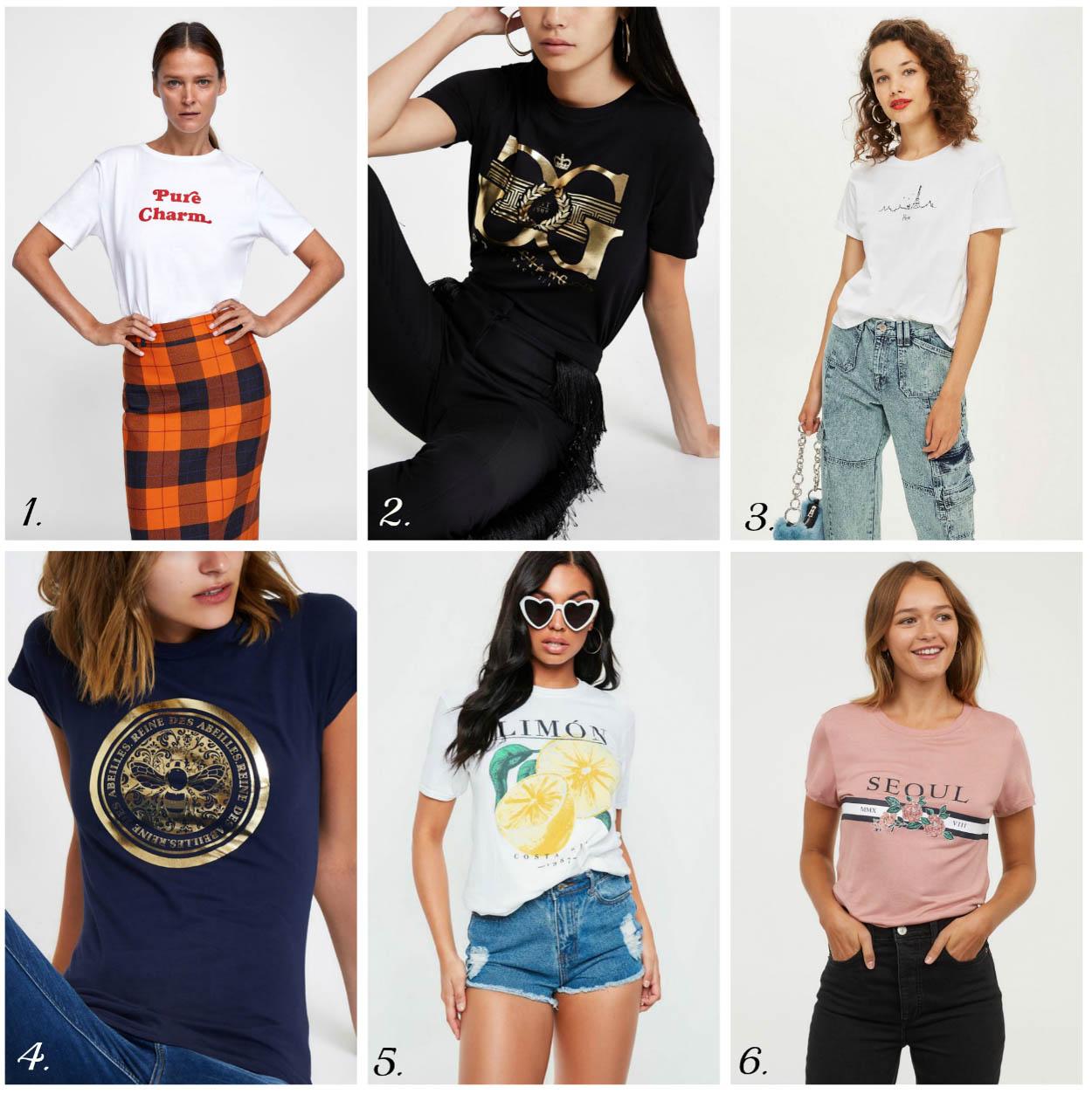 High Street T-shirts