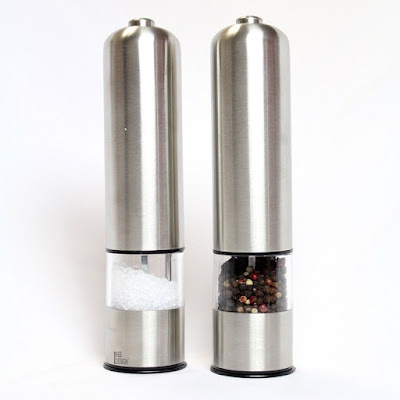 Shop Nile Corp Wholesale Stainless Steel Automatic Salt and Pepper Grinder