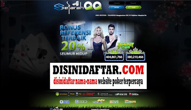 SejarahQQ.net Agen DominoQQ Online BandarQ Terpercaya