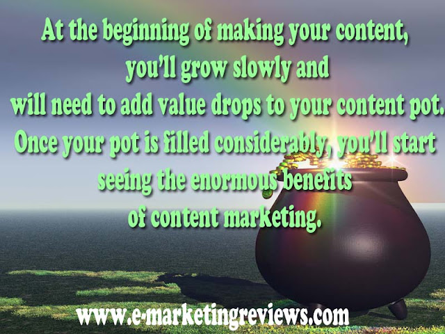 content marketing beginning
