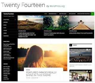 Theme Wordpress Twenty Fourteen Amazing