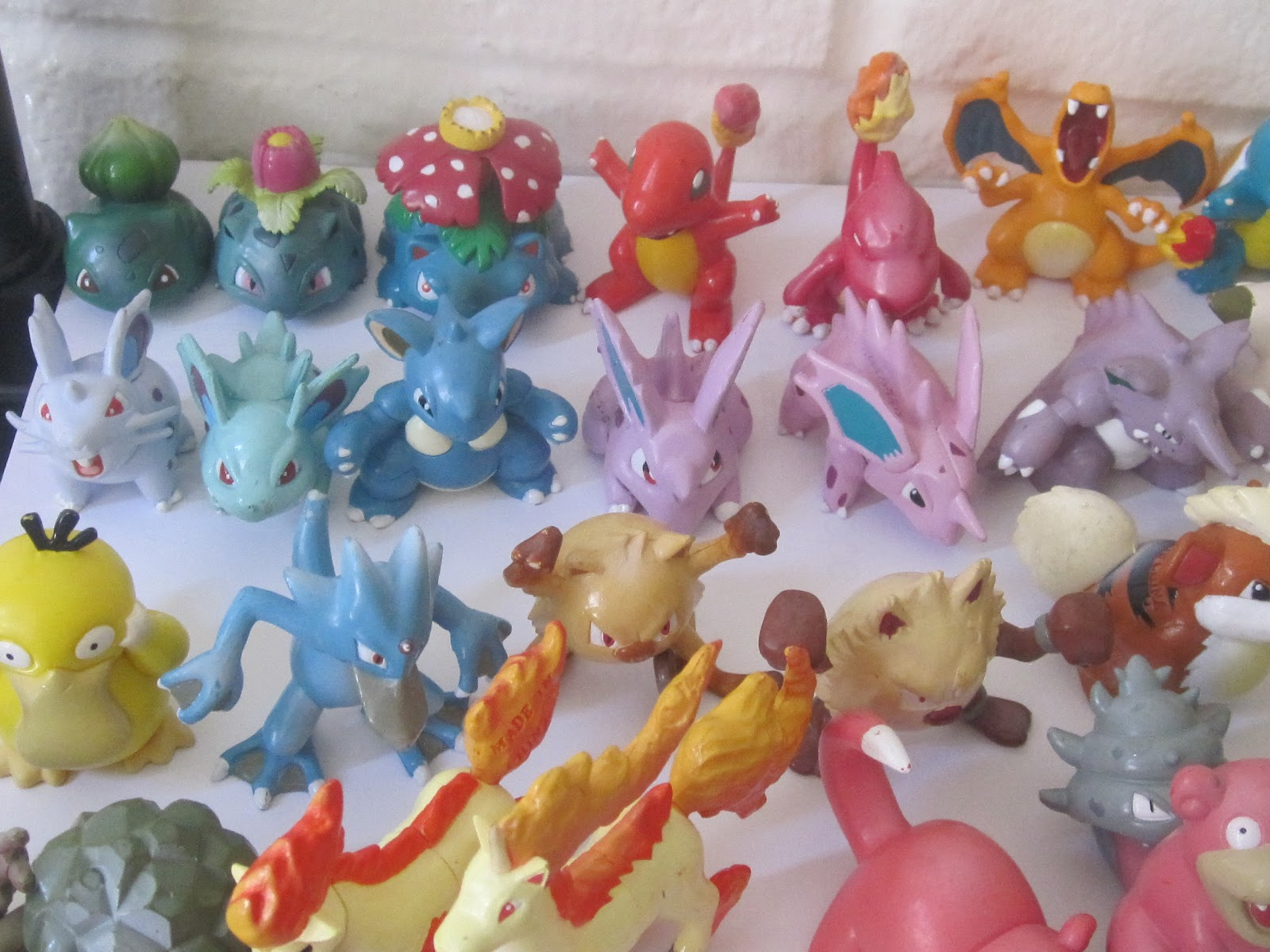 What Is My Paypal Email >> Tomy Pokemon Figures (100% Authentic): Tomy pokemon First Generation Figures (151 figures ...