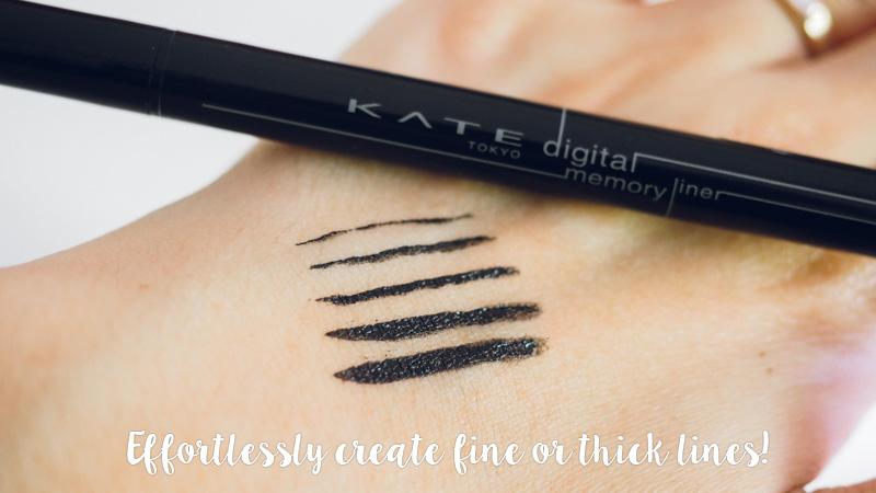 KATE Tokyo Digital Memory Liner review